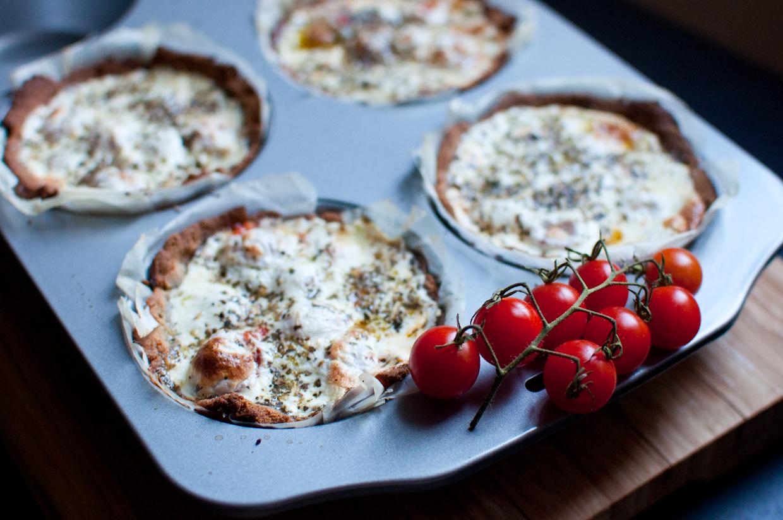 Tomato Mozzarella Tarts